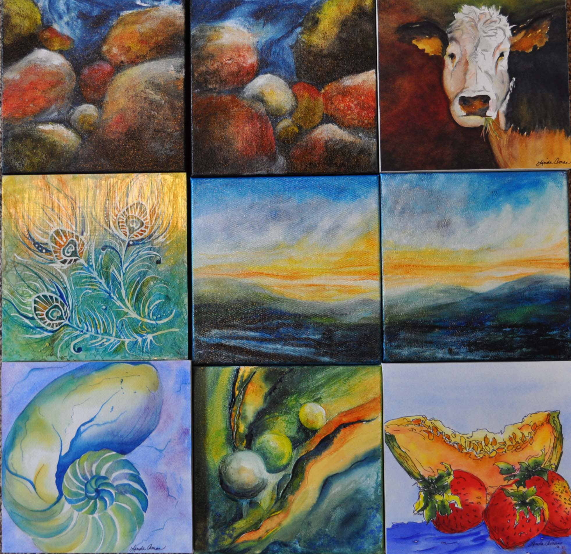 1 Artist – 30 paintings in 30 days for $30.00 fund raiser for Veteran's Center