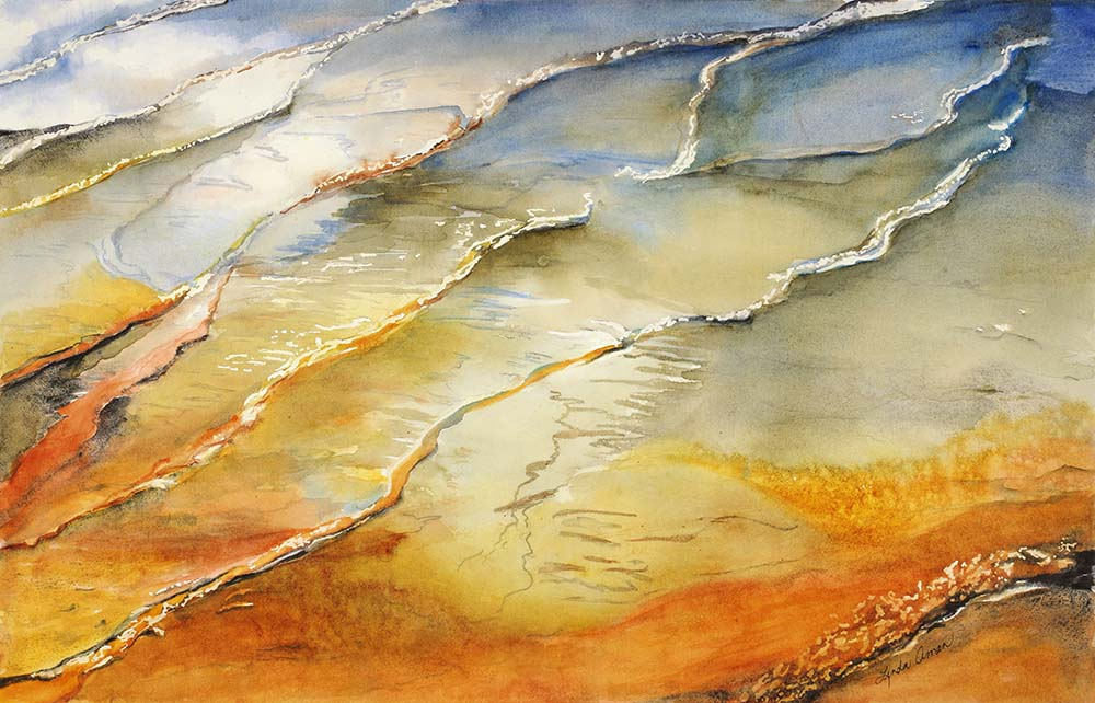 Prismatic Springs - Fine Art Print